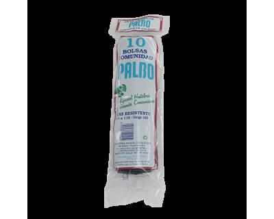 BOLSA BASURA AZUL 90X110 CM GALGA 160 - 10 UNIDADES