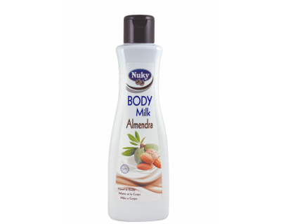 BODY MILK ALMENDRAS NUKY 750 ML