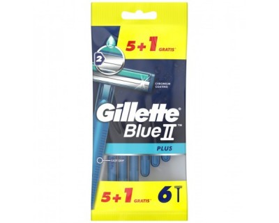 CUCHILLAS DESECHABLES GILLETTE BLUE 2 - 6 UNIDADES