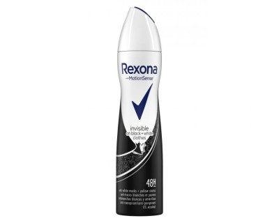 DESODORANTE REXONA INVISIBLE BLACK & WHITE CLOTHES 250 ML