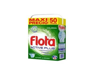 MALETA DETERGENTE FLOTA COLONIA 50 CACITOS
