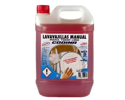 LAVAVAJILLAS MANUAL 5 LITROS PH NEUTRO