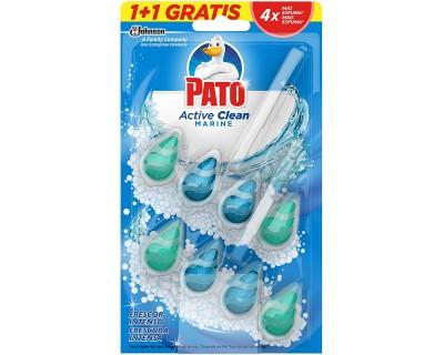 LIMPIADOR W.C. PATO ACTIVE CLEAN MARINO 2 UNIDADES
