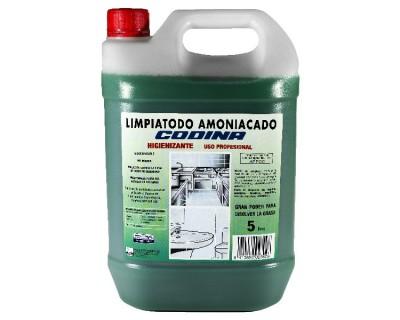 LIMPIATODO AMONIACAL CODINA 5 LITROS