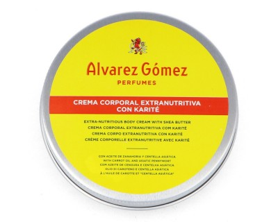 CREMA CORPORAL CON KARITE ALVAREZ GOMEZ 100 ML