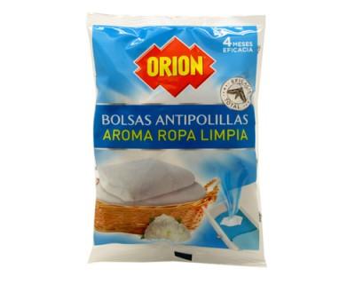 BOLSAS ANTIPOLILLAS ORION ROPA LIMPIA 20 UNIDADES