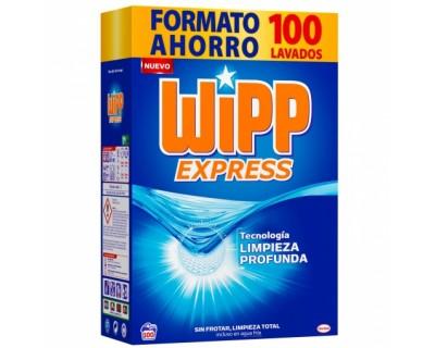 DETERGENTE EN POLVO WIPP EXPRESS 100 CACITOS