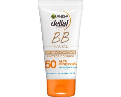 BRONCEADOR FACIAL DELIAL BB CREMA CON COLOR FACTOR 50 - 50 ML
