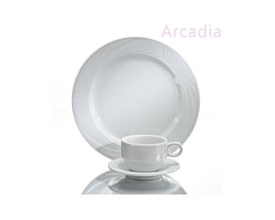 PLATO CAFE 16,5 CM MODELO ARCADIA
