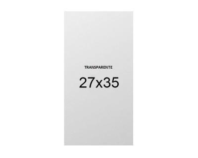 PAQUETE BOLSAS PLASTICO TRANSPARENTE 27X35 - 2 KILOS
