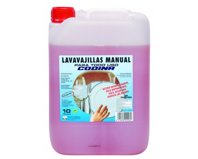 LAVAVAJILLAS MANUAL 10 LITROS CONCENTRADO