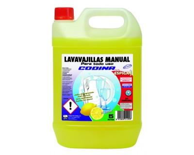 LAVAVAJILLAS MANUAL 5 LITROS LA ESPIGA