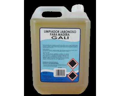 LIMPIADOR JABONOSO MADERA 5 LITROS