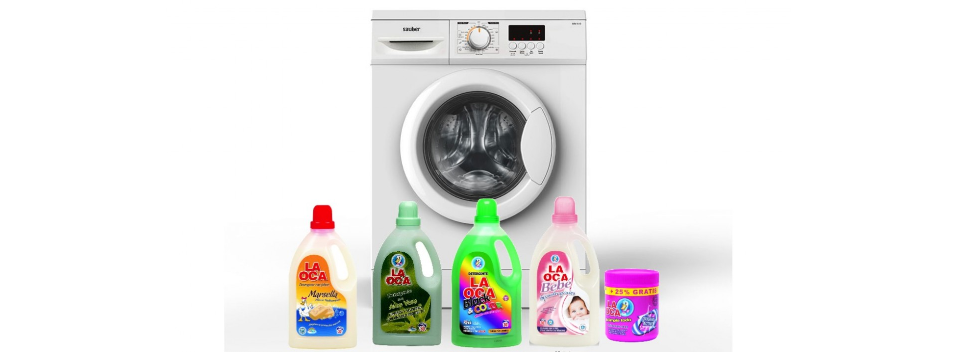 Detergentes para la ropa en galisl.com Tu web de la Hostelería